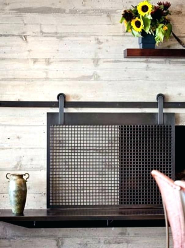 fireplace cover ideas best fireplace cover ideas on metal fireplace cover diy fireplace screen ideas