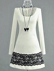 ICED® Women's Lace Long Sleeve Mini Dress – BRL R$ 41,09