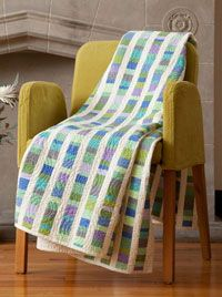 I love this Beach Glass Quilt . . . and have a lot of fabrics in these colors to use!