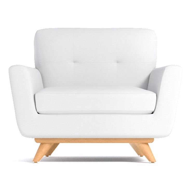 Best Carson Chair In Pure White Clearance White Accent 400 x 300
