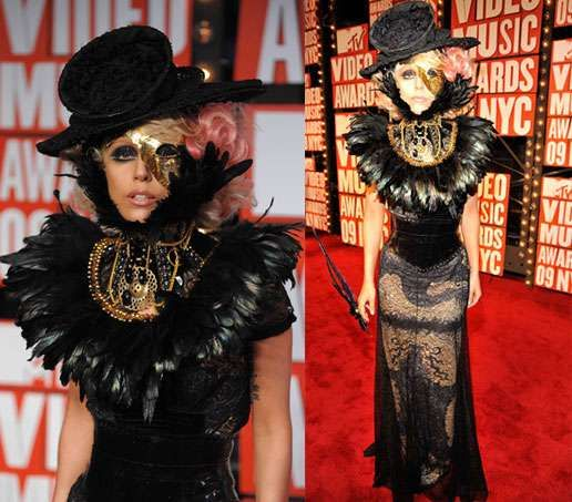 Kermit Croaks Over Lady Gaga's VMA Outfit #halloween #costumes trendhunter.com