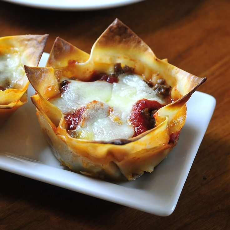 253.  Lasagna Cups by Simply Gourmet