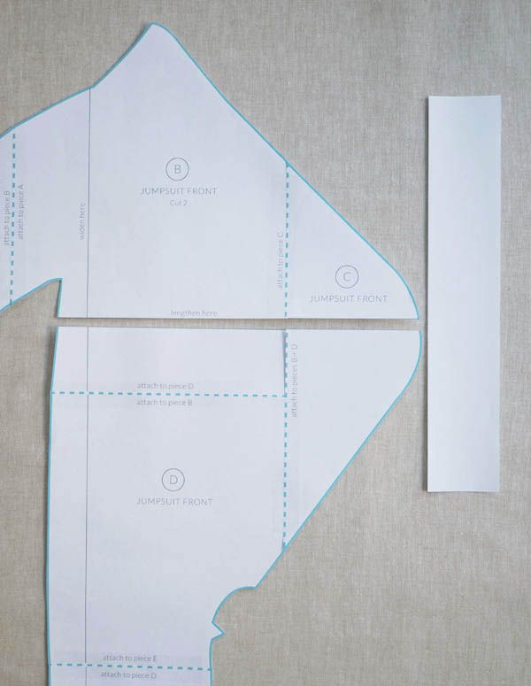 jumpsuit, anleitung, schnittmuster, grösse 0-3 monate