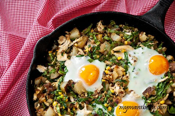Leftover Chicken Recipes – Kickin Chicken Hash Recipe