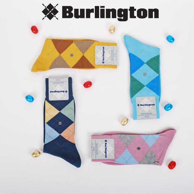 Voel de lente met onze nieuwe Burlington sokken, online verkrijgbaar bij Suitable!