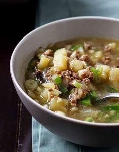 Just Try & Taste: Sup Daging & Kentang dengan Aroma Bawang