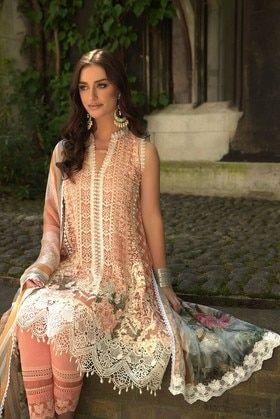 7b45bb7b3e Sobia Nazir 3 Piece Falak Luxury Chiffon Custom Stitched Suit -Design 7B -  Pink