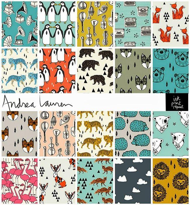 ANDREA LAUREN gorgeous prints and fabric// petitapetitandfamily.com