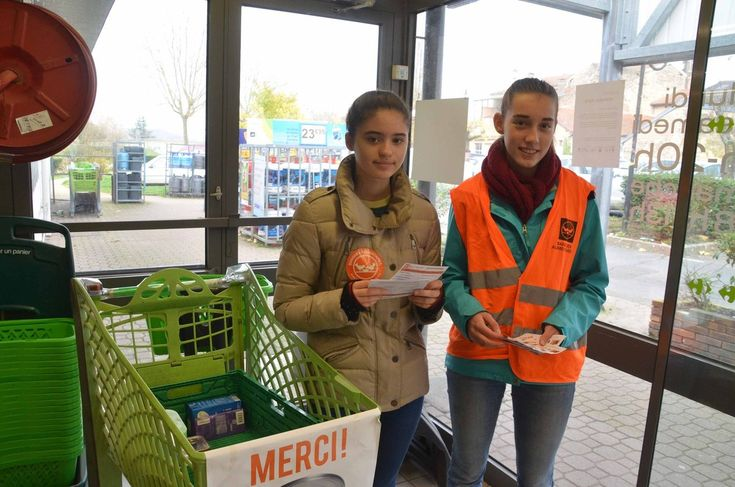 L'unité locale de la Croix rouge a participé à la collecte de la Banque alimentaire de l'Ain.