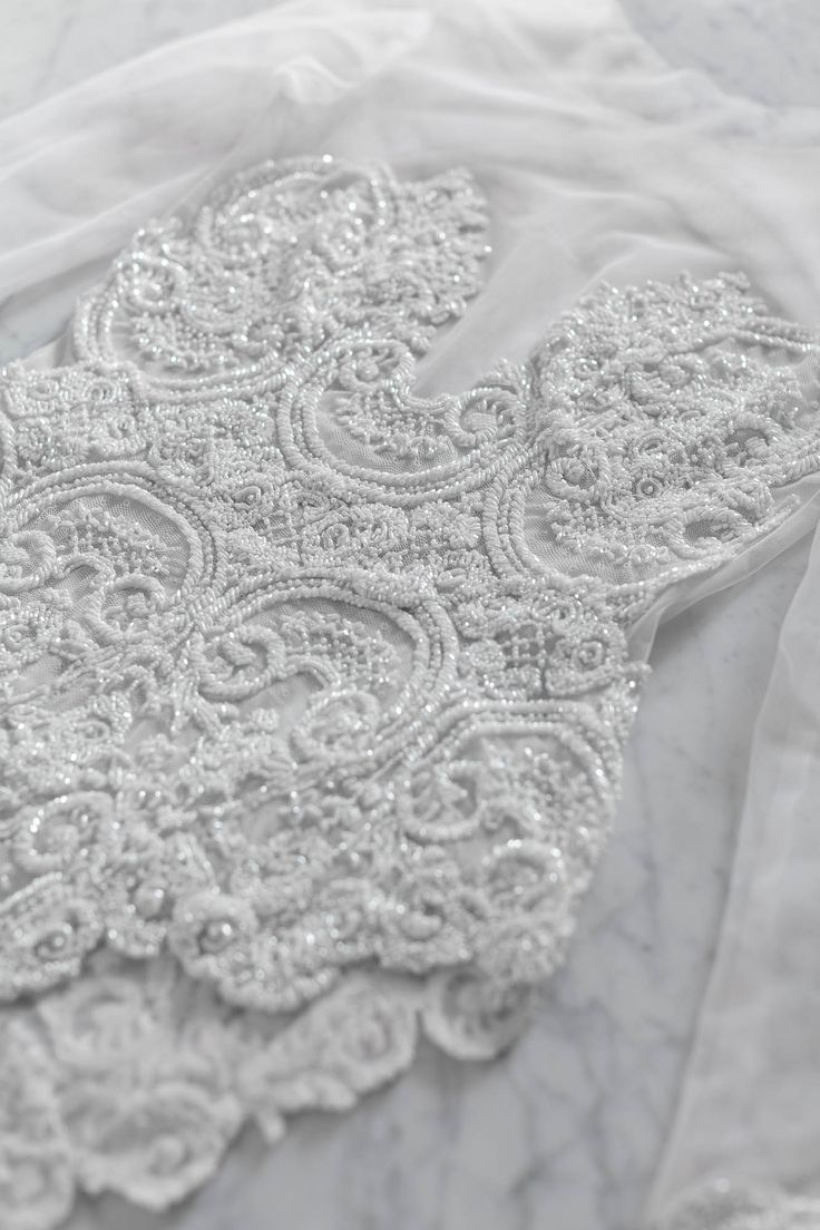 Mae's Sunday / Couture Lingerie / Bespoke Hand-beaded / Wedding Style Inspiration