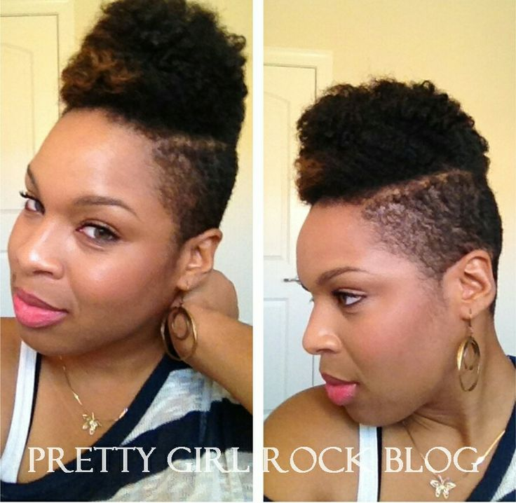 natural hair with shaved sides tumblr images