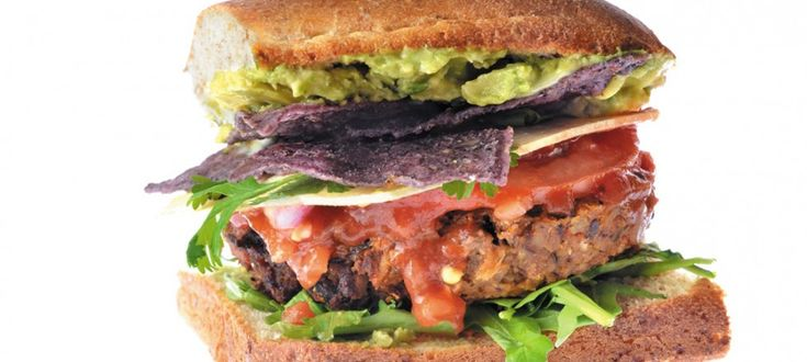 Salsa Burger by Chef/owner Anneen DuPlessis of Boon Burger Cafe