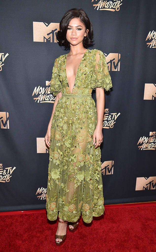 Zendaya from MTV Movie & TV Awards 2017: Red Carpet Arrivals  When it comes to this singer-songwriter, she never fails to nail the red carpet.