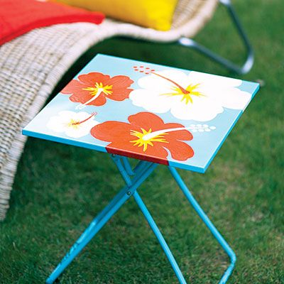 Tropical tabletop - DIY Home Decorating Projects - Sunset
