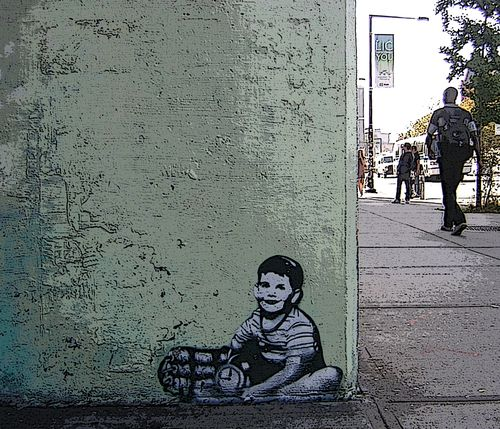 345 best images about banksy art on pinterest bristol for Banksy mural painted over