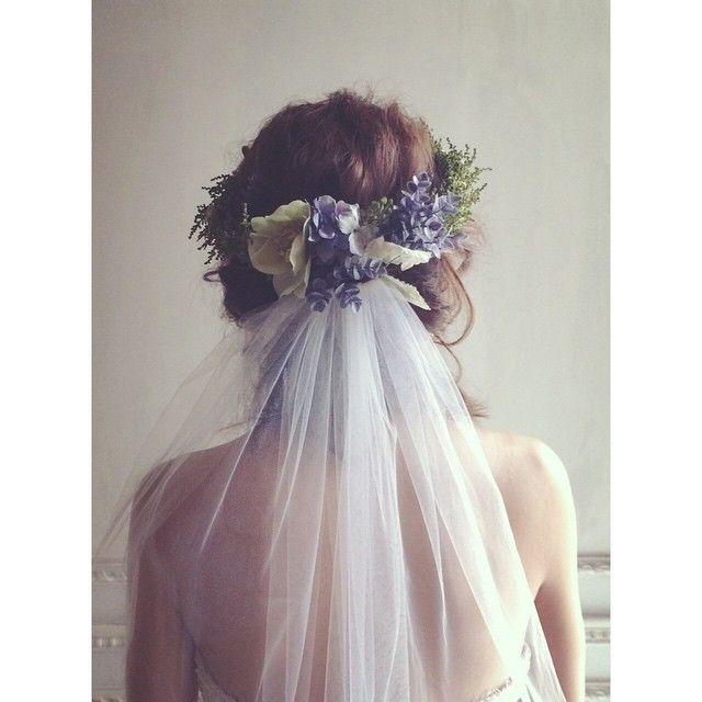花嫁さまは色んな角度から見守られて、1日を過ごすから後ろ姿も大切。 #ヘアメイク #ヘアメイクアップアーティスト…