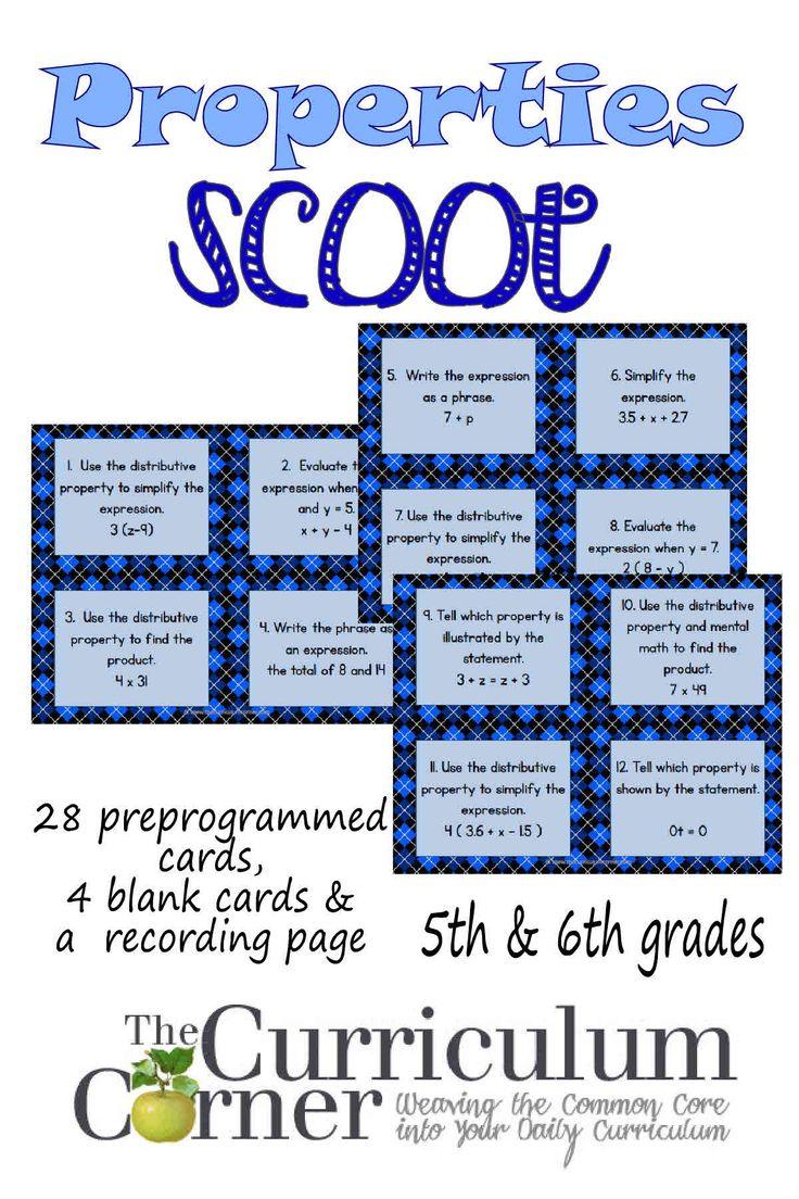 worksheet Math Properties best 25 math properties ideas on pinterest of scoot