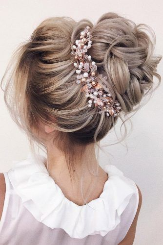 30 coiffures de mariage élégantes pour les mariées douces