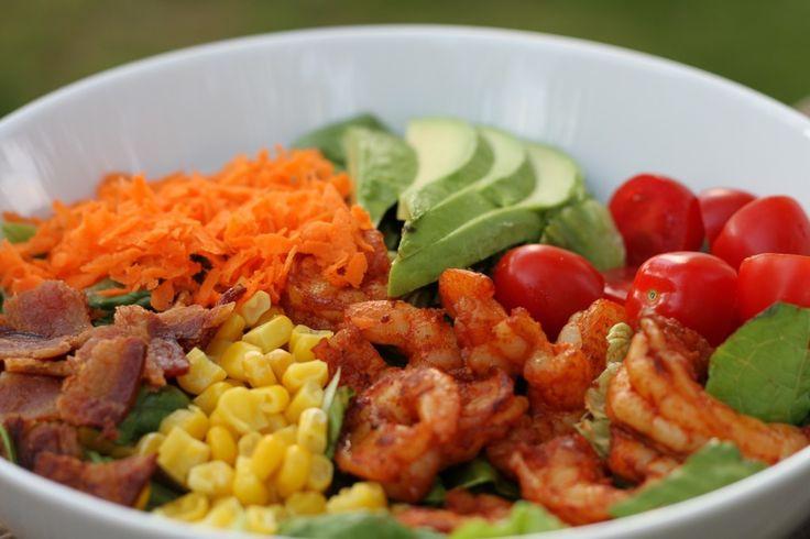 Shrimp Cobb Salad | Brittany's Pantry