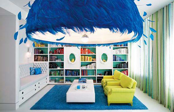 Paint Splatter Obliteration Room