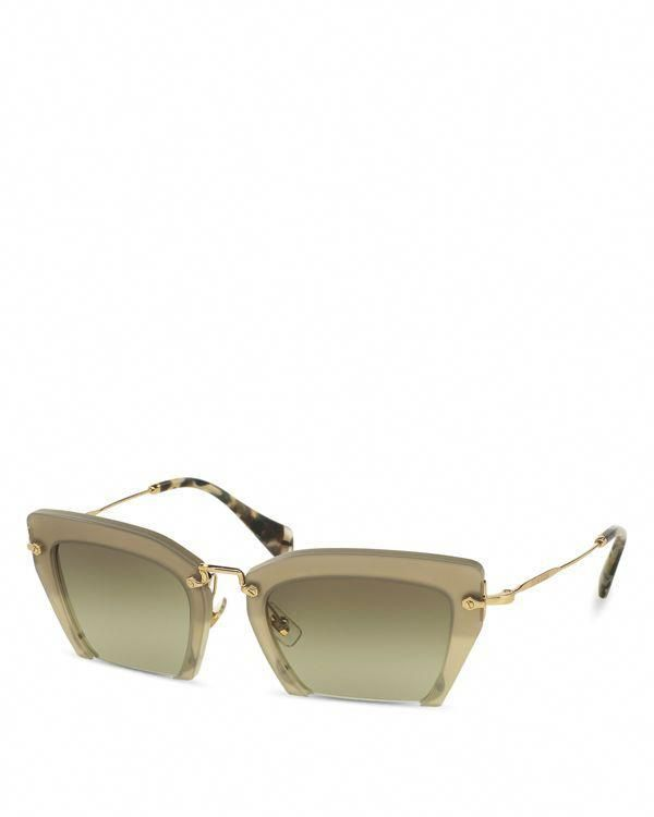 df6a54913b64 Miu Miu Noir Evolution Square Sunglasses  MiuMiu