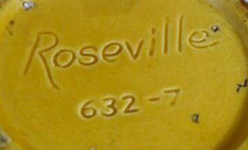 Roseville Pottery Reproductions - Identifying Roseville Repros: Another Fake Roseville Mark