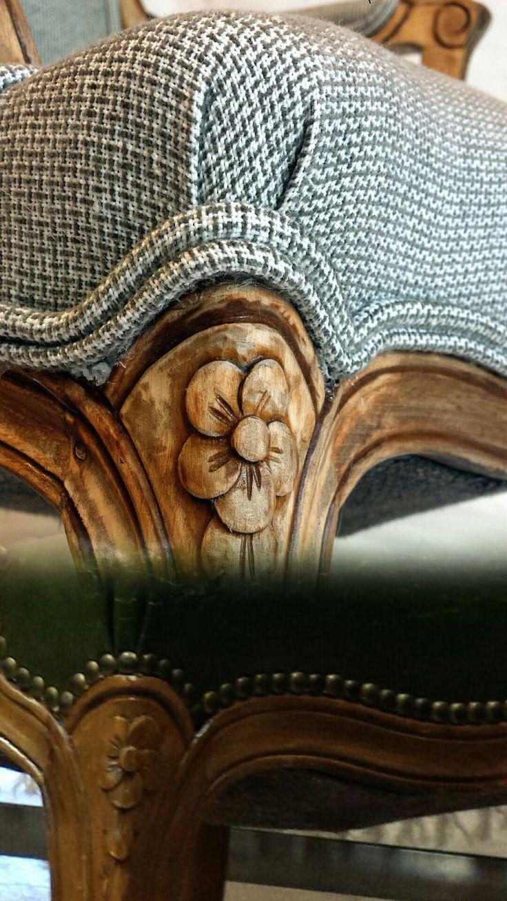 Mejores 70 im genes de mesitas en pinterest - Sillon estilo provenzal ...