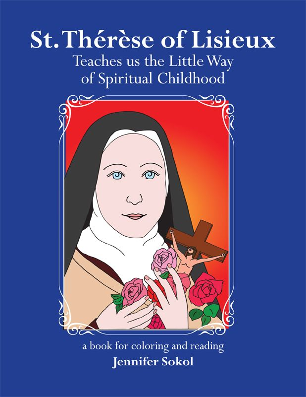 therese of lisieux coloring pages - photo#34