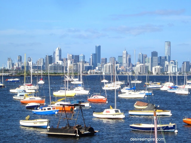 """Melbourne Australia """"Thanks to Mark H and Mike H for some amazing days sailing around Melbourne."""" KB"""