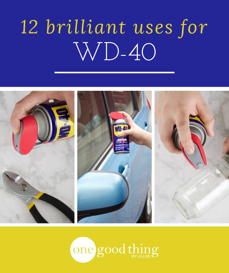 While you may keep a can in your garage, WD-40 is useful for tasks all around the house! Check out 12 of my favorite everyday uses for WD-40.