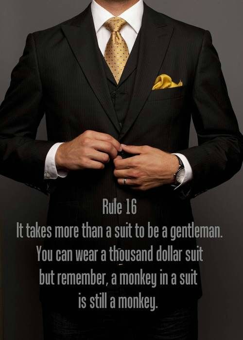 tallmichiganman: The suit should be a reflection, not a costume. | Raddest Men's Fashion Looks On The Internet: http://www.raddestlooks.org
