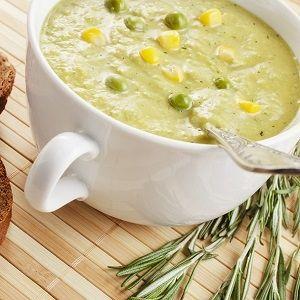 Σούπα με πατάτα, αρακά & τζίντζερ (μόνο 248 θερμ.)   Shape.gr