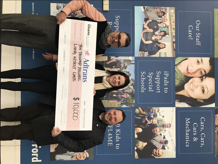 Congratulations to the Living Without Limits Foundation who recently received a check for $10,000 courtesy of the Adtrans Charity Golf Day.  Pictured here is Renee Durden one of the Adtrans Automotive Group staff handing over the $10,000 check to Phil De Pinto and Steve Maras who both represent the Living Without Limits Foundation.  Click here to learn more... http://adrianbriencars.com.au/blog/6046/adtrans-charity-golf-day-donates-10000-to-the-living-without-limits-foundation/