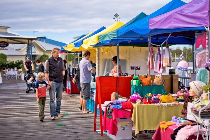 Check out the Noosa Marina Market #airnzsunshine