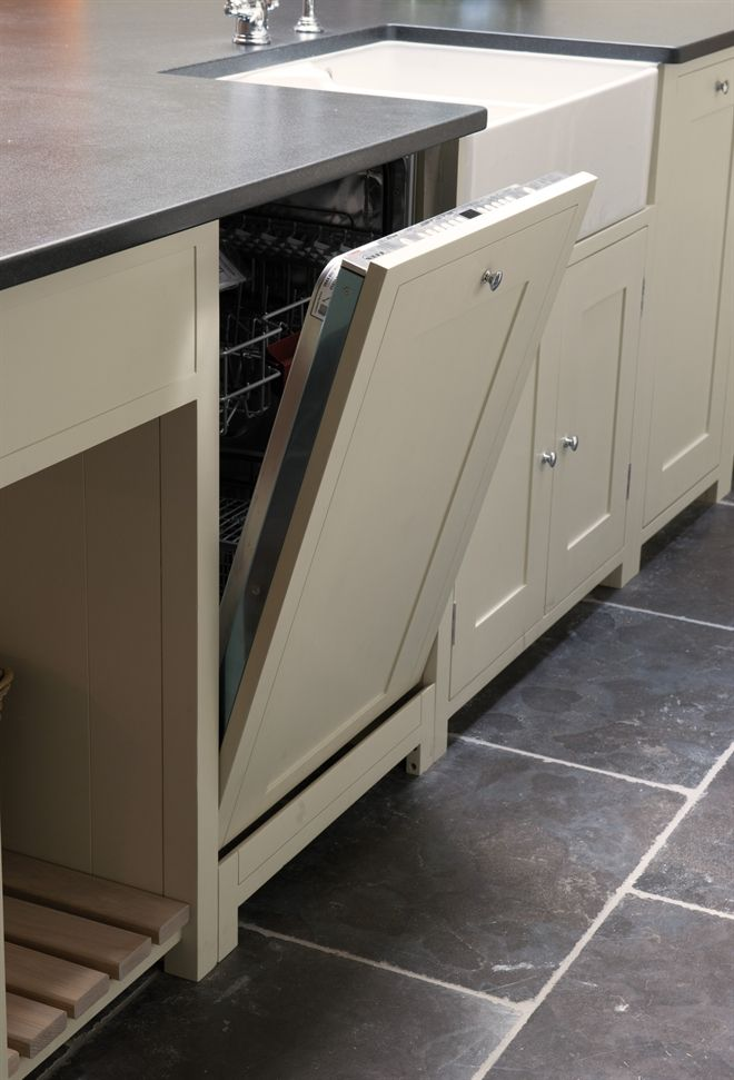 Neptune Kitchen Base Cabinets - Suffolk 600 Dishwasher Fascia
