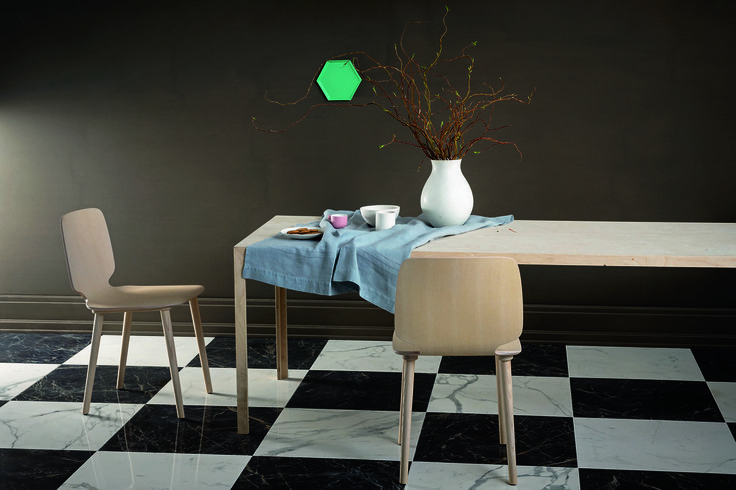 #Marazzi   #Allmarble   #porcelain   #tiles   #livingroom   #marbleeffect   #andreaferrari   #floor