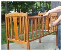 Refurbishing Used Baby Furniture