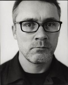 Damien Hirst. His work mostly focuses on imagery involving life and death.