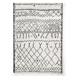 Alfombra estilo bereber Afaw. Alfombra Afaw con un tema inspirado en una artesanía de carácter, se adapta perfectamente a los interiores auténticos o contemporáneos.Fabricado en Europa. Características:Tejido estilo bereber fabricado a base de materiales reciclables.100% polipropileno.Acabados sin remate.Tratamiento heatset antiácaros Oeko-text. Descubre la alfombra de cama a juego y el resto de la colección de alfombras en laredoute.es.Calidad:Cuidado fácil:   aspirar regularmente. Limpiar…