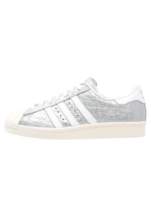 adidas Originals SUPERSTAR 80S  - Sneaker low - metallic silver/white für 103,90 € (27.11.16) versandkostenfrei bei Zalando bestellen.