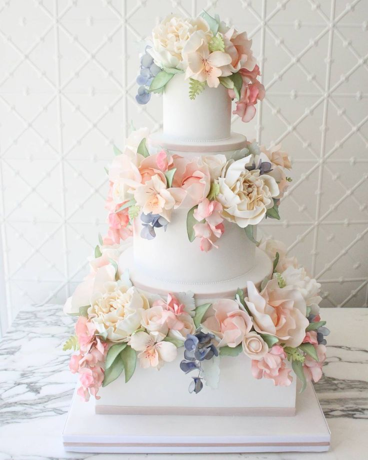 11215 Best Wedding Cakes Images On Pinterest