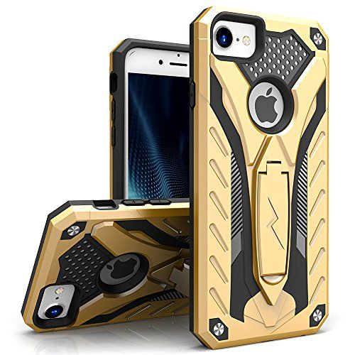 iPhone 7 Case, Zizo [Static Series] Shockproof [Military Grade Drop Tested] with Built-in Kickstand [iPhone 7 Heavy Duty Case] Impact Resistant | xMart Multishop