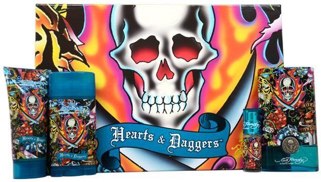 Wholesale Christian Audigier - Ed Hardy Hearts & Daggers (4 Pc Gift Set) (Case of 1)