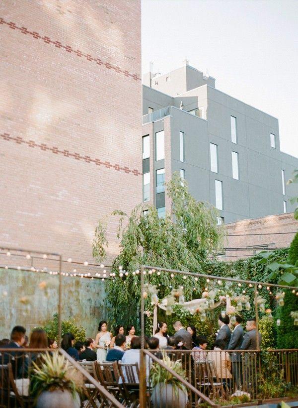 small intimate weddings southern california%0A Intimate restaurant wedding at MyMoon Brooklyn
