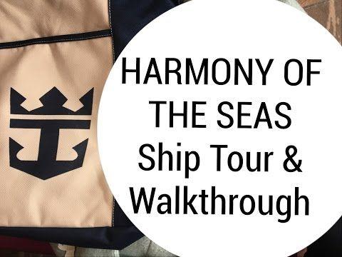 World's Biggest Cruise Ship   Ship Tour & Walkthrough - Harmony of the Seas - YouTube