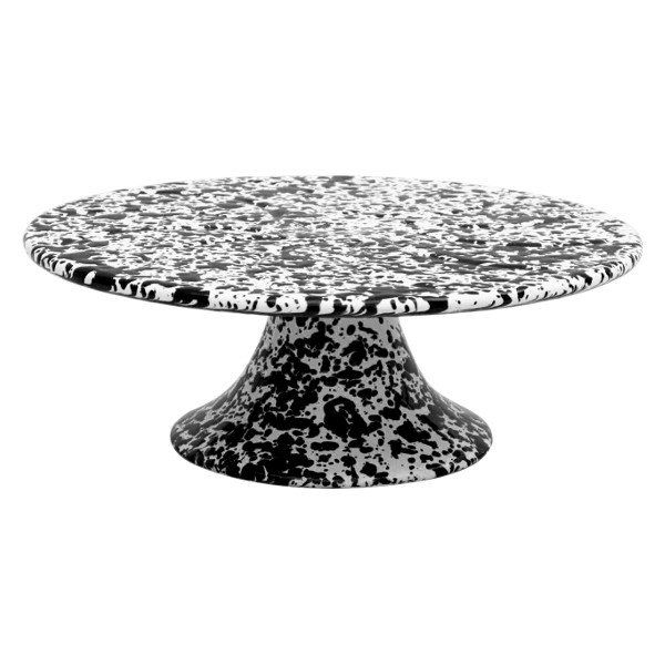 Enamel Cake Stand – Black.  Available at www.theprettybaker.co.nz