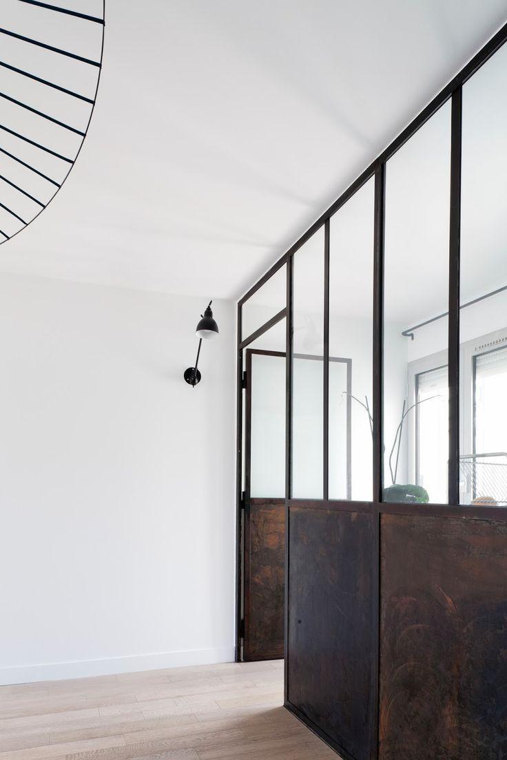 Amandine Gommez Vaëz : Un appartement aux douces notes industrielles | La petite fabrique de rêves