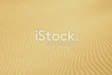 Ripples in a sand dune. Royalty Free Stock Photo