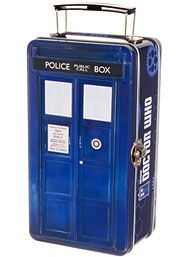 Doctor Who Tardis Space Rations Lunchbox