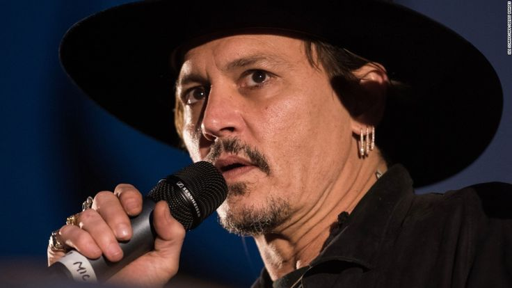 Johnny Depp on Thursday became the latest US celebrity to invite controversy by making a thinly veiled allusion to the killing of President Donald Trump.
